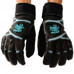Winter glove New York aqua/black